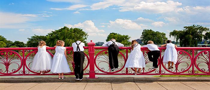 FANCY SUMMER WEDDING
